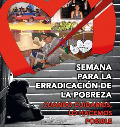 Los agustinos organizan la Semana para la erradicación de la Pobreza